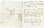 1846 August 13: B.W. Sower, Baltimore, Maryland, to E.N. Conway, Auditor, Military bounty land claims