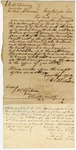 1846 January 30: H.S. Chichester, Troy, New York, to E.N. Conway, Auditor, Military bounty land claims