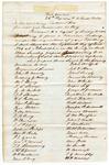1846 June 22: George W. Wells, Colonel, Twenty-eighth Regiment of Arkansas Militia, Governor Thomas S. Drew, Muster roll of militia company, Clark County