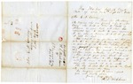 1846 September 21: R.S. Wickham, Sag Harbor, New York, to E.N. Conway, Auditor, Land owned by Nancy M. Wiggins of New York