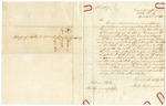 1846 April 4: John W. Williamson, Little Rock, to William Polk, Phillips County, Concerning request made to Governor Drew for return of Nathan Ray from Louisiana
