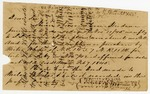 1846 January 19: Henry G. Smith, to E.N. Conway, Auditor, Taxes owed on land in Conway County