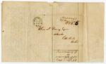 1847 June 25: S.T. Sanders, Washington, Arkansas, to Elias N. Conway, Auditor, Land claims