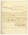1847 August 12: George N. Paschal, Van Buren, to Governor Thomas S. Drew, Petition from the citizens of Crawford County for executive clemency for Mr. Vanhorn
