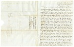 1847 October 4: James W. Hunt, Beaufort, North Carolina, to E.N. Conway, Auditor, Forfeited land wanted