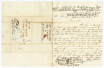 1847 October 23: Kay and White, Memphis, to E.N. Conway, Auditor, Military bounty land claim