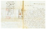 1847 October 27: W.T. Brockenbrough, Westwood, Virginia, to Elias N. Conway, Auditor, Forfeited land in Lafayette County owned by family of T.C. Nelson