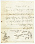 1847 October 4: C.W. Mallory, Montpelier, Ohio, to E.N. Conway, Auditor, Asking information concerning land in Arkansas