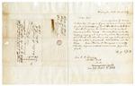 1847 December 11: Benjamin Jett, Washington, Arkansas, to Elias N. Conway, Auditor, Concerning a trust of Seminary lands