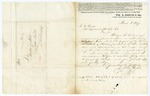 1847 March 3: William R. Prince, Flushing, New York, to Auditor of State, Concerning land of Thomas H. Mitchell, deceased