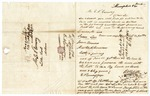 1848 April 3: R.N. Roberts, Memphis, Tennessee, to E.N. Conway, Auditor, For information about land donations
