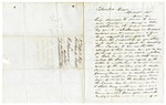 1848 April 3: Fortunatus Webb, Columbus, Georgia, to E.N. Conway, Auditor, For information about land donations