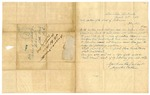 1848 March 12: Augustus Eberle, Louisville, Kentucky, to Auditor of Arkansas, For information of land donations