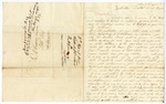1848 April 3: Robert J. Castens, Talbotton, Georgia, to E.N. Conway, Auditor, For information of land donations