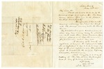1848 May 24: Henry M. Rector, Saline County, to E.N. Conway, Auditor, Proposing division of Saline County