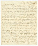 1848 June 6: Jeremiah Duckworth, New Portland, Alabama, to Elias N. Conway, Auditor, For information of land donations