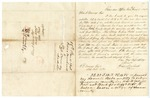 1848 June 15: Isaac Moorhead, Erie, Pennsylvania, to Elias N. Conway, Auditor, Lands sold for taxes