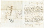1848 April 16: Robert Dyer, Scotts Ferry, Virginia, to E.N. Conway, Auditor, For information of land donations