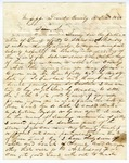 1848 June 18: I.M. Richardson, Mississippi, to Elias N. Conway, Auditor, For information of land donations