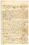1848 August 29: Ira Holman, Clerk of Circuit Court, Sevier County, to Elias N. Conway, Auditor, Order for collection of taxes in county