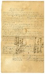 1848 September 11: Augustus C. Jeffery, Clerk of the Circuit Court, Izard County, to E.N. Conway, Auditor, Order for collection of taxes in county