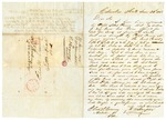 1848 September 26: D.W. Hampton, Columbia, Arkansas, to E.N. Conway, Auditor, Land sold for taxes