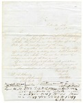 1848 April 4: W.R. Miller, Batesville, Arkansas, to E.N. Conway, Auditor, Military bounty land claims