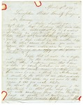 1848 April 4: James Buys, Lumpkin, Georgia, to E.N. Conway, Auditor, For information about land donations