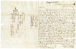 1848 April 27: John North, McAlisterville, Pennsylvania, to E.N. Conway, Auditor, Military bounty land claims