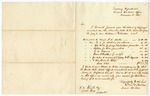 1848 December 15: M.M. McCalla to J.E. Knight, List of items of stop pages