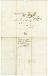 1848 June 8: John V. Barmone, Dardanelle, Arkansas, to E.N. Conway, Auditor, Concerning land in Yell County