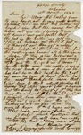 1848 April 13: Gross Scruggs, Phillips County, Arkansas, to E.N. Conway, Auditor, Concerning deed money for M.C. Crosky