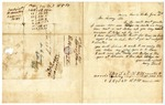 1848 June 15: Mary Black, Monroe County, Arkansas, to E.N. Conway, Auditor, For information about land donations