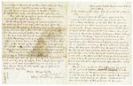1849 October 13: A. Wood, Adjutant General, Yellville, Arkansas, to Governor John Selden Roane, Report on Marion County War [Tutt-Everett War]