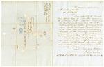 1849 April 26: F.L. Henop, Philadelphia, to Auditor of Arkansas, Military bounty land claims