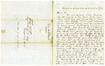 1849 October 15: William C. Mitchell, Crooked Creek, to Governor John S. Roane, Report on Marion County War [Tutt-Everett War]
