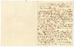 1849 February 1: Solon Borland, Washington City, to John Knight, Little Rock, Concerning land warrant certificates