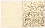 1849 February 9: Solon Borland, Washington City, to John Knight, Little Rock, Concerning claim of Mr. Kelly as wagon master