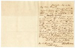 1849 February 11: Solon Borland, Washington City, to John Knight, Little Rock, Concerns about his own health