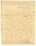 1849 March 9: William R. Miller, Batesville, Arkansas, to