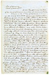 1849 September 8: David Walker, Judge of Supreme Court, to Sheriff of Marion County, Writ for the apprehension of murder suspects