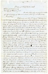 1849 September 8: David Walker, Judge of Supreme Court, to Sheriff of Marion County, Writ for the apprehension of murder suspects (copy)