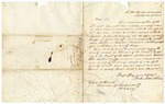 1850 September 11: John Seldon Roane to Green O. Daniel, Treasurer, Newton County, Concerning election to fill vacancy in office of county judge