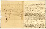 1850 February 17: Sam Leslie, Wylie's Cove, Arkansas, to Governor John Selden Roane, Report on activities of Everetts in Marion County War [Tutt-Everett War]