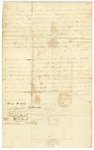 1850 May 26: Isa Bettis, Independence County, to Governor Roane, Resignation as Justice of the Peace, Buncombe Township and 1850 May 27: Citizens of Independence County to Governor Roane, Petition for appointment of John Reaves as Justice of the Peace