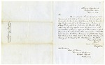1850 June 1: Elisha Whittlesey, Treasury Department to Governor John S. Roane, Concerning money raised from sale of public lands in Arkansas