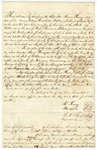 1850 April 23: James Penny, et al., to the State of Arkansas, Security bond for Penny, Sheriff and Collector of Sevier County
