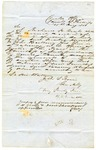 1851 August 25: Richard H. Yeats, Clerk of Phillips County, to Governor John S. Roane, Petitioning for special election for Justice of the Peace in Independence Township