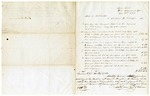 1852 November 20: State of Arkansas to Richard H. Johnson, Statement of account for printing Biennial Report of the Treasurer