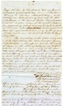 1852 May 26: James S. Dollarhide, et al., to the State of Arkansas, Security bond for Dollarhide as Sheriff and Collector of Sevier County